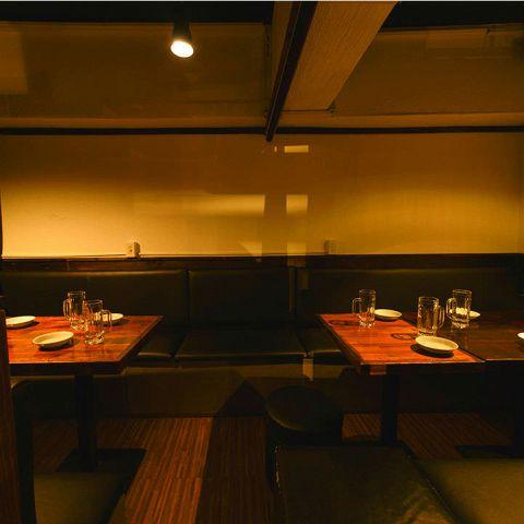 新宿駅東口から徒歩5分!2名様~最大100名様まで利用可能な開放的空間を完備しております♪ダウンライトがほんのり照らす空間は、サク飲みや女子会、デート、ビール好きの集いなど各種宴会に最適◎お得な宴会コースは3時間飲み放題付きで3000円~ご用意♪