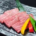 料理メニュー写真特選和牛ザブトン(塩・たれ)