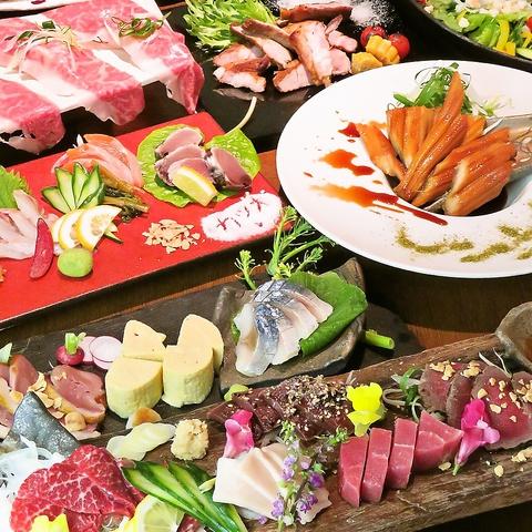 [完全個室完備]姫路×九州の食材を堪能…各種宴会に4000円コース~ご用意!駅徒歩1分