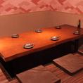 2F:仕切りを使って半個室風のお席のご用意も可能です!