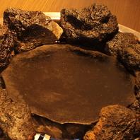 お肉がヘルシーになる溶岩石焼の秘密