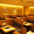最大60名様までOK♪会社宴会や学生様の打ち上げにもピッタリ!飲み放題付きの宴会コースもご用意しておりますので、各種宴会でもご満足頂けること間違いなし!ご宴会に最適なゆったりとしたお席で、しゃぶしゃぶorすき焼きをお楽しみくださいませ。京都駅にお越しの際はぜひご利用ください♪