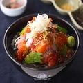 料理メニュー写真上 海鮮贅沢丼