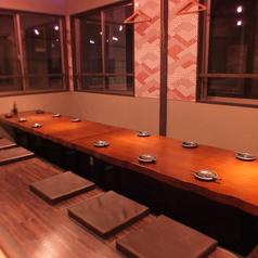 2F:会社宴会にピッタリな25名席は2席ご用意が出来ます★