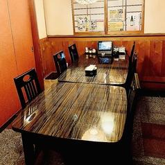 テーブル席20名様まで個室でのご用意出来ます。