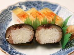 箱寿司の画像