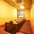 8~14名様の完全個室、早めのご予約を!