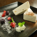 料理メニュー写真チーズアイスケーキ(カッサータ)