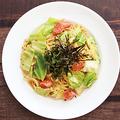 料理メニュー写真明太子とキャベツの醤油バターパスタ
