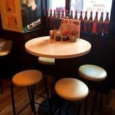 3名様以上でご来店のお客様には、テーブル席をご用意しております!4名様以上の場合もテーブルの移動ができるため、ご安心ください♪