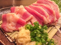 馬刺し,肉寿司専門店のメニュー