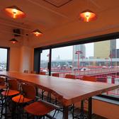 【テーブル14席】 昼と夜で全く違う景色を楽しめます!