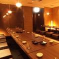 大人数でのご宴会にも対応可能な個室のご用意がございますので広島でのご宴会の際には是非ご活用下さい。宴会の際の人数やご予算などはお気軽にご相談ください。宴会の幹事様にも嬉しいお得に宴会の楽しめるクーポンのご用意もございますのでお客様の利用シーンに合わせてご活用ください。