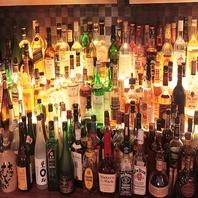 お酒も多数ご用意してます