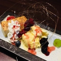 料理メニュー写真北海道チーズケーキ~バニラ添え~