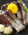 料理メニュー写真〆さば/帆立の刺身