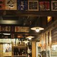 店内は昭和レトロな大衆居酒屋の雰囲気◎