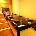 【B1F】最大22名様までのお座敷個室席です。