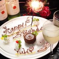 <誕生日・記念日★>大切な日をお祝い♪