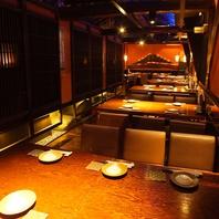 宴会は《魚々十日本橋店》へ♪最大43名まで宴会可能