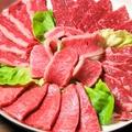 料理メニュー写真看板肉5種盛り