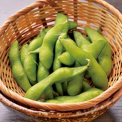 枝豆/屋台の丸かじり胡瓜/板わさ/焼きナス