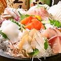 料理メニュー写真瀬戸内鮮魚のお造り