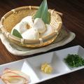 料理メニュー写真宮城県産大豆の手作り豆冨(温)(冷)