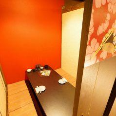 2名様個室。プライベートな空間を。。。