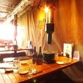 【テーブル席】6名様でも座れる。友人同士でワイワイガヤガヤ!!美酒と美味で宴会を!