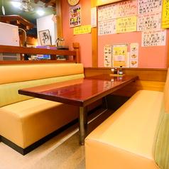 一の矢の【8人・テーブル席】 広々としていてゆったりとランチなどを楽しめる一の矢の基本的な席になっています♪最大8人まで座れるので是非ご利用ください!