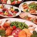 料理メニュー写真ご宴会コース料理(例)