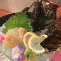 料理メニュー写真カナダ産 オマール海老姿造り