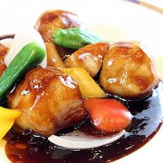 豚肉と野菜の香り黒酢餡 『黒酢豚』  (レギュラー/ハーフ)