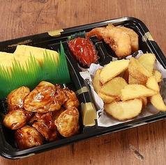 焼鳥&玉子焼とポテトフライセット