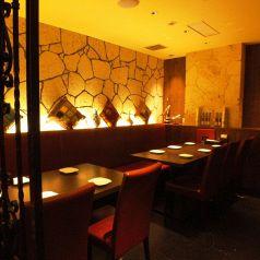 プライベート空間で。合コンや会社宴会、食事会に人気のお席!