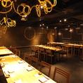 地下一階に広がる大人の空間♪こだわり創作料理・設備充実・豊富なコース・充実の飲み放題メニュー
