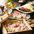 雪室熟成豚と新潟和牛などの素材をご堪能下さい。厳選された素材を彩る料理長の技…美食家もうならせるコース料理をご用意。一つ一つ丁寧に盛りつけられた創作和食。新鮮野菜と旬の鮮魚を使用。種類豊富で大好評♪女子会やデート、合コンなど様々なシーンに最適。大宮 個室 居酒屋 デート 女子会 誕生日 記念日