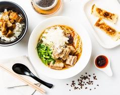 台南麺館の写真