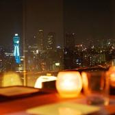 夜景が一望できる完全個室のVIPルーム完備