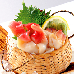 料理メニュー写真北海道産 ホッキ貝刺身