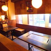【4~10名様】テーブル席では10名様迄一緒にお食事頂くことも可能です。