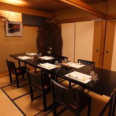 2階の椅子テーブル個室。※ランチメニューは個室利用不可