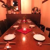 団体様向けのテーブル席。2名~最大17名
