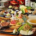 情緒溢れる店内で江和食と炉端を愉しむ!旬の恵みを料理人が丹精こめておもてなしいたします。美味しいお酒にあう、こだわりの料理の数々をぜひご堪能ください!メニューが多くて迷ってしまう・・・という方には人気のコース料理もおすすめです!お料理のみのコースの場合、8品2500円(税抜)から!