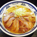 料理メニュー写真味鶏チャーシュー麺