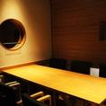 【完全個室】2名様~OK!プライベート個室席!和モダンな空間を楽しんで。