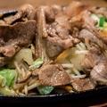 料理メニュー写真ジンギスカンの鉄板焼