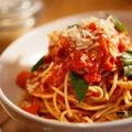 料理メニュー写真■Spaghetti Tomato Sauce / スパゲッティ トマトソース