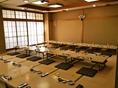 2階の宴会場は50名様ほどまでご利用可能です。※こちらはお昼時間の雰囲気のお写真です。